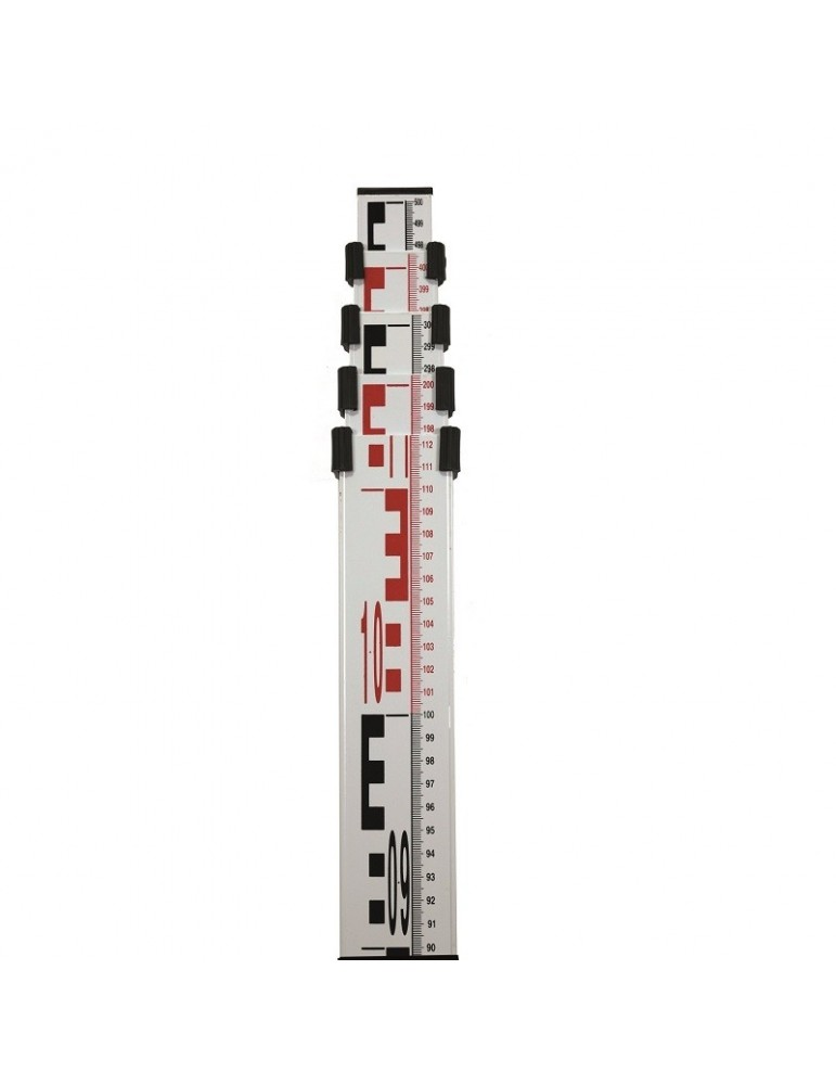 Telescoping Leveling Rod, 4 sections
