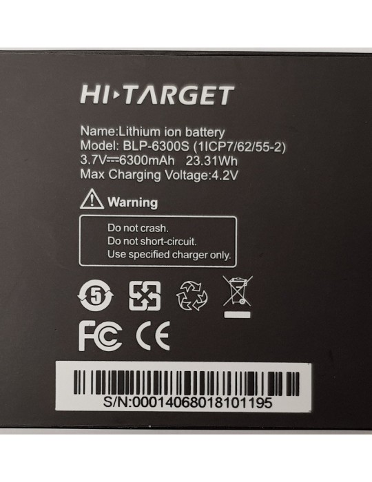 Lithium battery 6300mHh