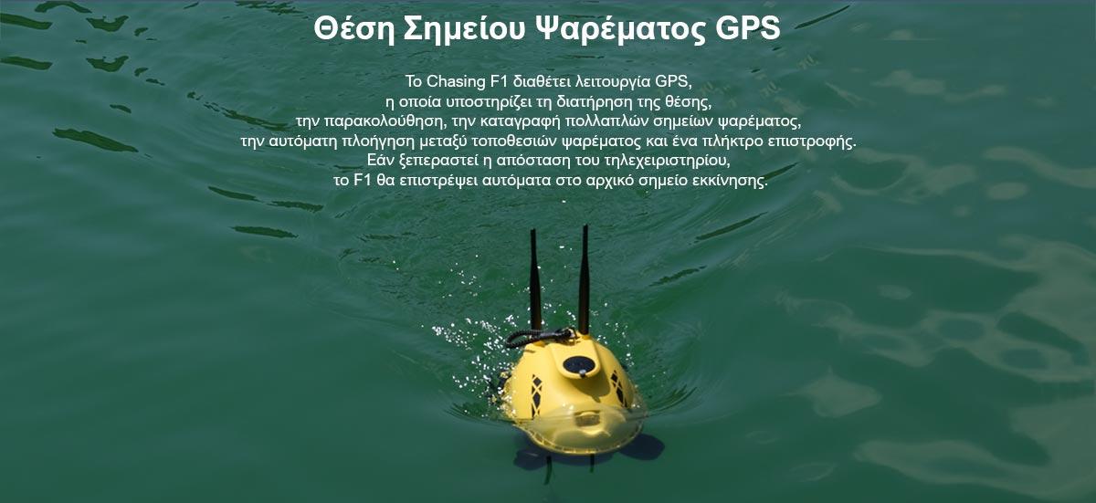Chasing F1 Fish drone