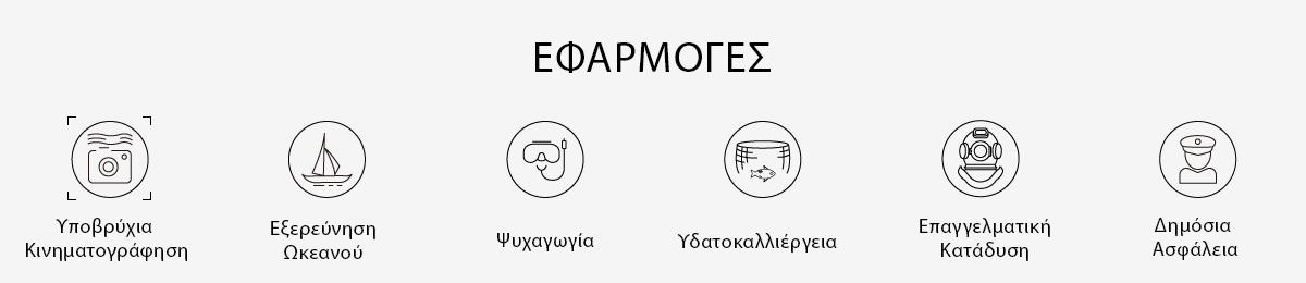 FIFISH APPLICATIONS GREEK