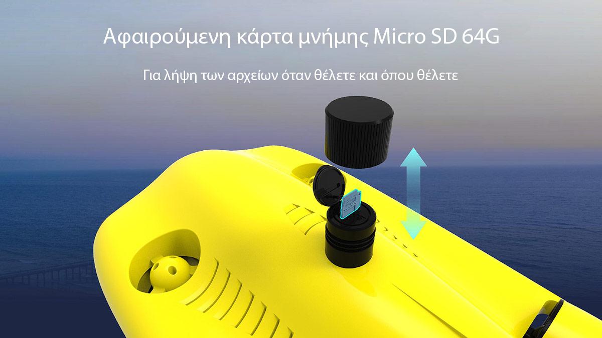 Gladius Mini S Removable Micro SD Card