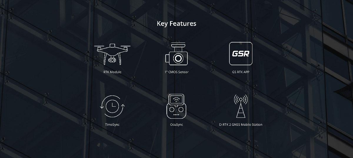Phantom 4 RTK Key Features